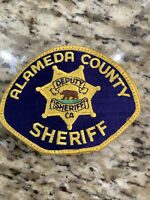Alameda County Sheriff's Dept (CA) Embroidered Shoulder Patch Police Sheriff
