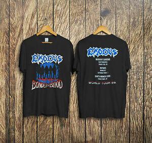 EXODUS 1985 tour Shirt Size S-3XL FREE SHIPPING !!!