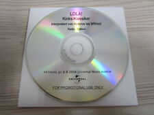 CD / Lola! ( Kinks-Klassiker Interpretiert Von Ambros Bis Wilfried ) / PROMO /