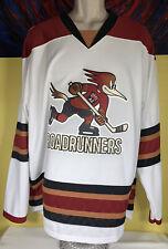 Men's CCM AHL Tucson Roadrunners Hockey Jersey Size XL White