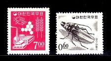 SELLOS FAUNA INSECTOS 1965 400/0 2v.
