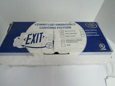 Combo Led Emergency Lighting Fixture