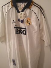 Real Madrid  Adidas Vintage Camiseta Final Paris 2000 - L