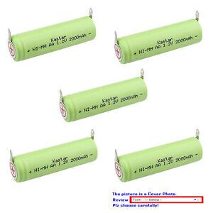 Kastar NiMH 1.2V 2000mAh Battery for Norelco 7250XL 7260XL 7310XL 7315XL 325XL