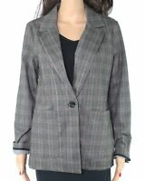 Sanctuary Women's Brooklyn Blazer Black Size Small S Single Button $129 #329