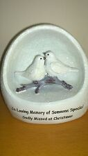 Two Turtle Doves Christmas memorial Someone Special