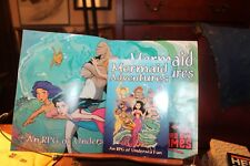 Mermaid Adventures Roll Playing Game & Poster Third Eye Games  Pip System RPG