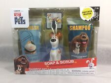 The Secret Life of Pets By Illumination Soap & Scrub 4pc Gift Set Metro Mango