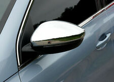 Chrome side Door mirror cover Trim For peugeot 308 Sw Estate 2014-2018