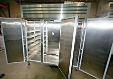 True Commercial Refrigerator 3-Door on Wheels -Clean- Model Str3R-3S w Key (A)