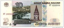 RUSSIA 10 PУБЛЕЙ (RUBLES) 1997 (2004) P-268c UNC [RU822a]