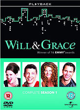 DVD:WILL AND GRACE - SERIES 1 - NEW Region 2 UK