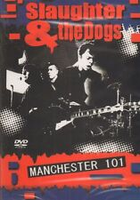 Slaughter And The Dogs(DVD)Manchester 101-Secret-DRIDE68-2008-New