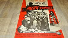 PACIFIC-EXPRESS ! cecil b. demille   affiche cinema western