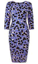 Bnwt Phase Eight /8 Jersey Multi Coloured Kata Spot Dress Size 14