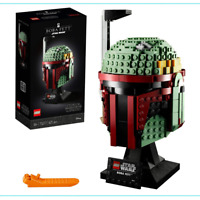 Star Wars Lego Fett Boba Helmet 75277 New Building Kit Collection Set