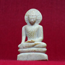 Buddha Figure (10oz) Marble Carved Statue Nepal Craft 10