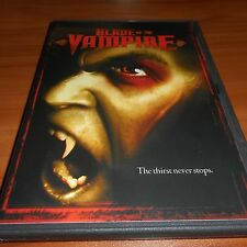 Blade Of The Vampire (DVD, Widescreen 2006) Used  Michael Taggert