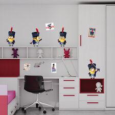 Minions Francia -  Wall Stickers removibile - Licenza  Ufficiale -WALLMIN35