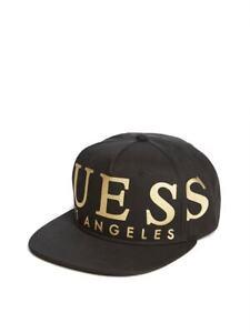 GUESS Factory Gold Logo Baseball Hat