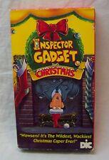Inspector Gadget Saves Christmas Cartoon Vhs Video Movie 1992