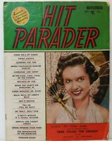 Hit Parader Magazine Back Issue November 1951 Debbie Reynolds GD