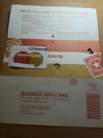 Citibank Master Card Credit Card 1982 Issue Date With Original Mailer