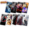 Anime Naruto Sasuke Phone Case for Iphone XR XS Max X 6 7 8 Plus Huawei Mate