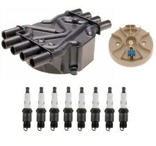 "Distributor Rotor Cap & Professional .060"" Spark Plugs Kit ACDelco for Chevy GMC"