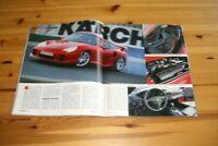 Autozeitung 21819) Wahnsinn! Porsche 911 996 GT2 mit 483PS im Spezialtest auf 6