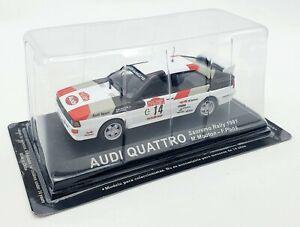 EBOND Audi Quattro - Sanremo Rally 1981 - M.Mouton - F.Pons - Scala 1:43 0051.
