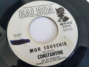 Constantine & His Orchestra - My Trompette Bloweth Over 70's Mono Promo