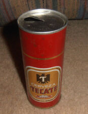 Vintage & Rare Cerveza Tecate Very Old Tall Beer Can Mexico