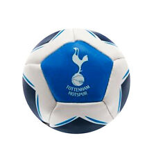 Tottenham Crest Kick N Trick Small Bean Filled Football Blue White