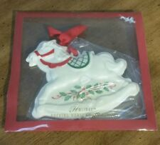 Lenox ~ Holiday Rocking Horse Cookie Press ~ In Original Packaging