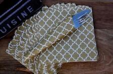 Gold Ogee Design Paper Napkin