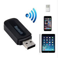 USB Wireless Bluetooth 3.5mm Handsfree Audio Music Aux Stereo Receiver Adapter