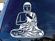 Buddha Buddhism Meditating spiritual car truck window laptop Vinyl Decal Sticker