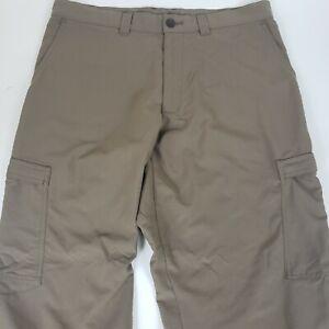 Patagonia Mens 34x32 Poly/Nylon Hiking Pants Quick Dry Lightweight