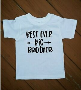 Best Ever Little Brother Best Ever Big Brother Childrens T-shirt