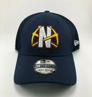 Denver Nuggets NBA New Era Hat 39THIRTY Flex Fit Cap Blue Size Small Medium