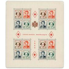 MONACO BLOC N°3A CROIX-ROUGE MONEGASQUE TIMBRES NEUFS-1949