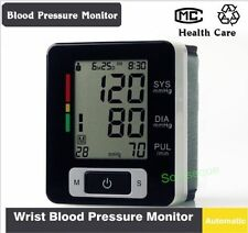 TENSIOMETRO PULSOMETRO DIGITAL MUÑECA Wrist Blood Pressure Monitor Tensiometer #