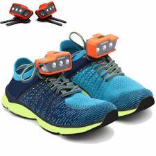 2 Pcs Night Runner Shoes Lights Led Dog Walking Waterproof Lamp Camping Fishing