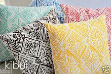 Aztec Cushion Cover Throw Pillow Case Decor 100% Cotton Kibui NEW