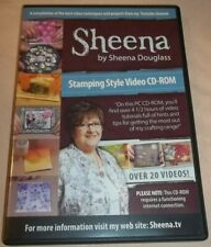 Sheena by Sheena Douglass - Stamping Style (Video/Cd-Rom) Vgc