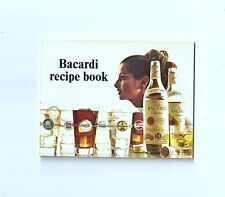1972 Bacardi Rum Cocktails & Mixed Drinks Booklet