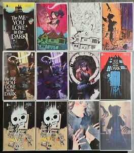 The Me You Love in the Dark #1 Variant Cover Set of 12 Different! NM 9.4+