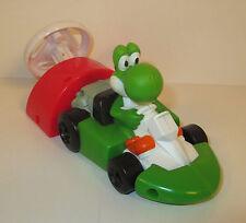 "2008 Yoshi Mario Kart Wii 6"" Burger King Action Figure Super Mario Brothers"