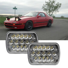 LED Cree Crystal Clear Sealed Beam Headlamp Headlight Hi/Lo for Jeep Cherokee